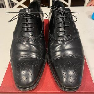 Salvatore Ferragamo Casey lace up dress Shoes